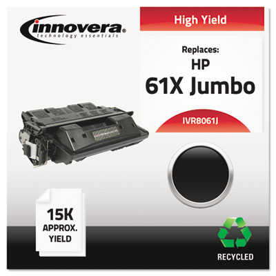 Remanufactured C8061X(J) (61X Jumbo) Laser Toner, 15000 Yield, Black