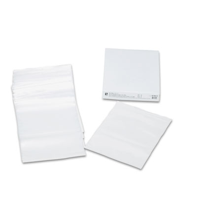 Heavyweight Industrial Poly Zip Bags, 8 1/2 x 11, 50/BX