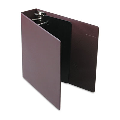 "Heavyweight Vinyl Slant-D Ring Binder, 2"" Capacity, Maroon"