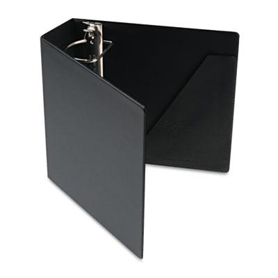 "Heavyweight Vinyl Slant-D Ring Binder, 3"" Capacity, Black"