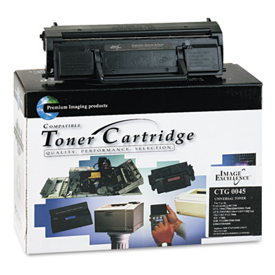 CTG0045 Compatible Remanufactured Toner, 7500 Page-Yield, Black