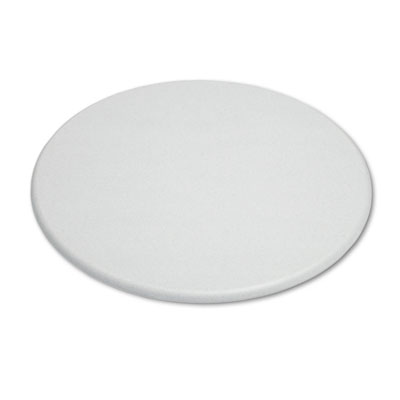 "OfficeWorks Round Table Top, 42"" Diameter, Gray Granite"