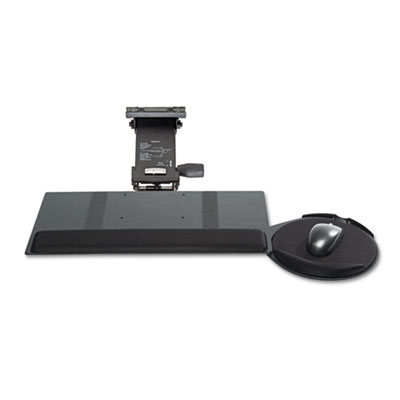 Leverless Lift N Lock Keyboard Tray, 19 x 10, Black