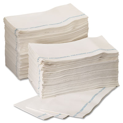 WYPALL X80 Foodservice Paper Towel, 12.5x23.5, Blue/White, 150/CT