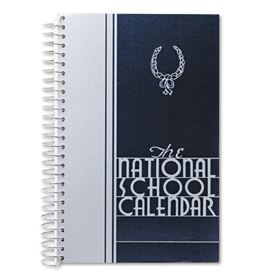 National Academic School Calendar, July-June, 8-1/2 x 5-1/2, 2012-2013