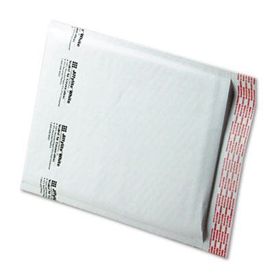 Jiffylite Self-Seal Mailer, Side Seam, #2, 8 1/2 x 12, White, 100/Carton