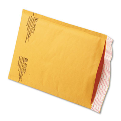 Jiffylite Self-Seal Mailer, Side Seam, #0, 6 x10, Golden Brown, 250/Carton