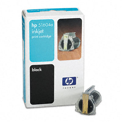 51604A Inkjet Cartridge, 550 Page-Yield, Black