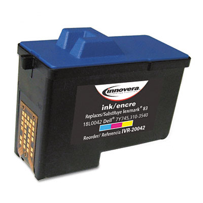 D7Y745C (7Y745) Remfg Inkjet Cartridge, High-Yield, 300 Page-Yield, Tri-Color
