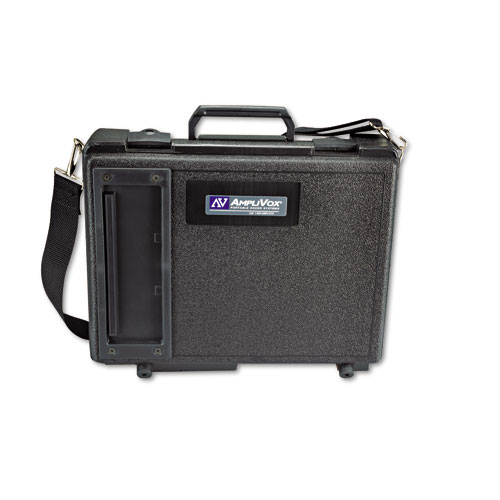 Buy AmpliVox Audio Systems - AmpliVox Audio Portable Buddy Professional PA System w/Pro Wired Mic & 15-ft. Cable, EA - APLS222