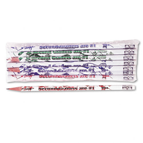 Moon Products Decorated Wood Pencil, Second Graders Are #1, HB #2, WE Brl, Dozen at Sears.com