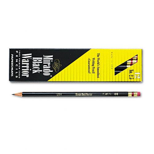 Item Detail - Mirado Black Warrior Wood Pencil, F #2.5 , Black Matte