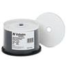 DVD-R 4.7GB 8X DataLifePlus White Inkjet Printable/Hub Printable, 50/PK Spindle