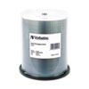 CD-R, 52x, 700MB, Inkjet Printable, Silver, 100/Pack