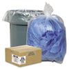 Clear Low-Density Can Liners, 7-10 gal, .6 mil, 24 x 23, Clear, 500/Carton