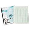 Accounting Pad, Eight Six-Unit Columns, 8-1/2 x 11, 50-Sheet Pad