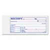 Receipt Book, 2 3/4 x 7 3/16, Three-Part Carbonless, 50 Forms