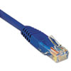 CAT5e Molded Patch Cable, 7 ft., Blue