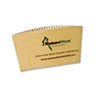 NatureHouse(R) Unbleached Paper Hot Cup Sleeves