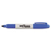Super Permanent Markers, Fine Point, Blue, Dozen
