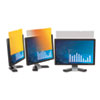 "Frameless Gold LCD Privacy Filter for 19"" Widescreen Monitor"