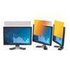 "Frameless Gold LCD Privacy Filter for 17"" Monitor"