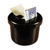 "Ultimate Stamp Dispenser, One 100 Count Roll, Black, Plastic, 2"" Dia. X 1 11/16"""