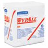 X80 HYDROKNIT Wipes, 1/4-Fold, 12 1/2 x 13, White, 50/Box, 4 Boxes/Carton