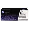 12A (Q2612A) Toner Cartridge, Black