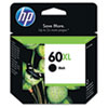 60XL Ink Cartridge, Black (CC641WN)