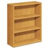 10500 Series Laminate Bookcase, Three-Shelf, 36w x 13-1/8d x 43-3/8h, Harvest