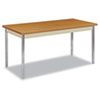 Utility Table, Rectangular, 60w x 30d x 29h, Harvest/Putty