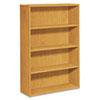 10500 Series Laminate Bookcase, Four-Shelf, 36w x 13-1/8d x 57-1/8h, Harvest