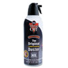 Disposable Compressed Gas Duster, 12 oz Can