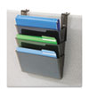 deflecto(R) DocuPocket(R) Three-Pocket File Partition Set with Brackets