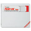 Print-On Tabs for High-Speed Copiers and Offset Presses, 5 Tabs, 150/BX