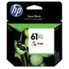 61XL Ink Cartridge, Tri-color (CH564WN)