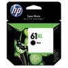 61XL Ink Cartridge, Black (CH563WN)