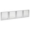 Alera(R) Glass Door Set For Hutch