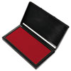 Microgel Stamp Pad for 2000 PLUS, 3 1/8 x 6 1/6, Red