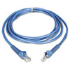 CAT6 Snagless Molded Patch Cable, 14 ft, Blue