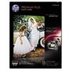 Premium Plus Photo Paper, 80 lbs., Soft-Gloss, 8-1/2 x 11, 50 Sheets/Pack