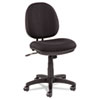 Alera Interval Series Swivel/Tilt FTask Chair, Supports up to 275 lbs, Black Seat/Black Back, Black Base