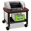 Impromptu Under Table Printer Stand, 20-1/2w x 16-1/2d x 14-1/2h, Black/Cherry