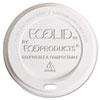 EcoLid Renewable & Compostable Hot Cup Lids, Fits 8oz Hot Cups, 50/PK, 16 PK/CT