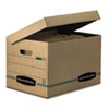 Bankers Box(R) SYSTEMATIC(R) Basic-Duty Attached Lid Storage Boxes