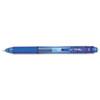 EnerGel-X Retractable Roller Gel Pen, .5mm, Blue Barrel/Ink, Dozen