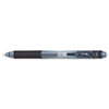EnerGel-X Retractable Roller Gel Pen, .5mm, Black Barrel/Ink, Dozen