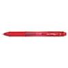 EnerGel-X Retractable Roller Gel Pen, .5mm, Red Barrel/Ink, Dozen