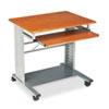 Empire Mobile Desk, 29-3/4w x 23-1/2d x 29-3/4h, Medium Cherry